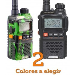 Walkie Talkie Baofeng UV-3R+