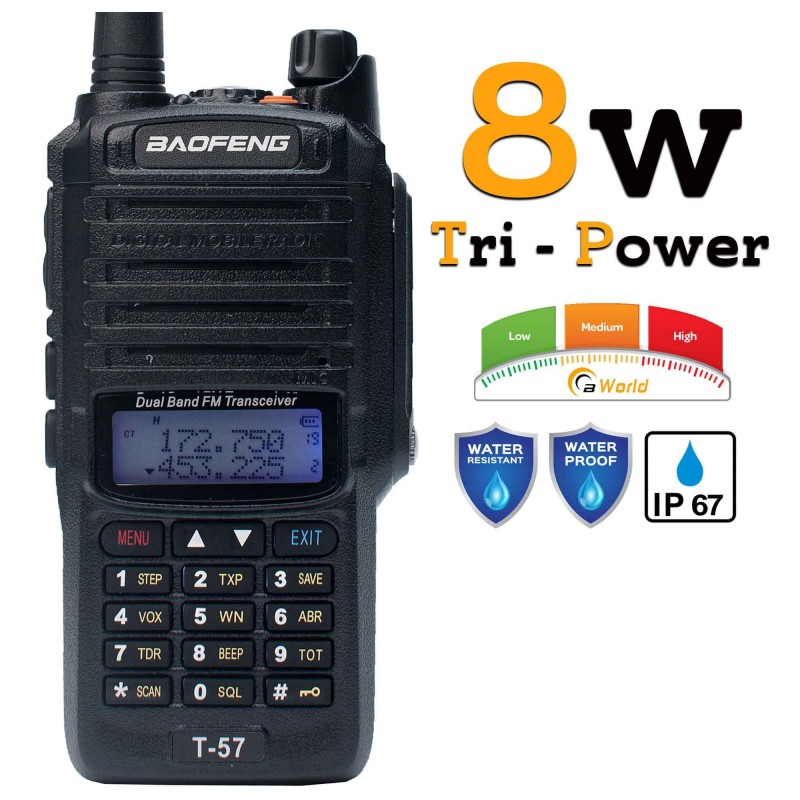 Baofeng T57 Waterproof