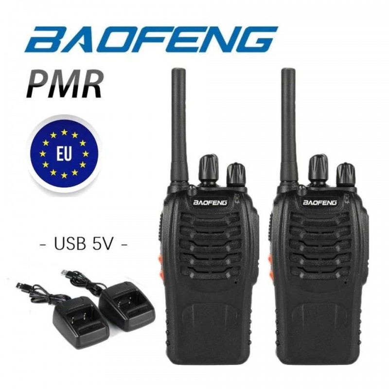 Pack 2 x Baofeng PMR 88E