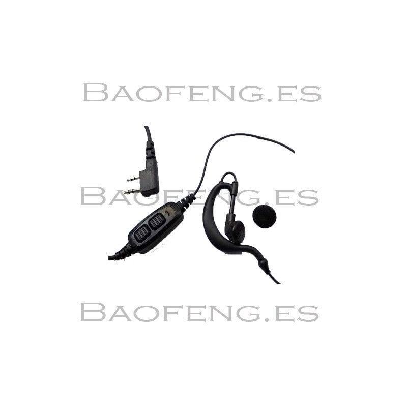 Pinganillo Baofeng doble Ptt