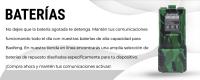 Baterias para walkie talkies Baofeng. Baterias baratas Baofeng.