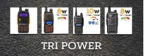 Walkie talkies Tripower de Baofeng , 8 y 10w.