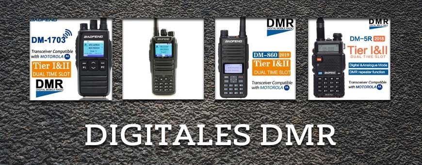 Walkie Talkies digitales DMR compatibles con Motorola